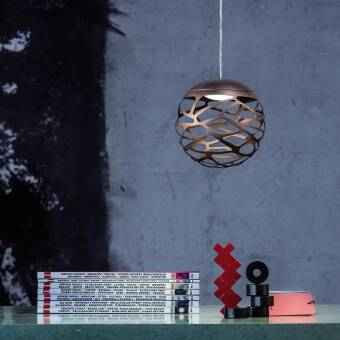 Studio Italia Design KELLY  Cluster 1 sphere LED Suspension SO lampa wisząca  kolory