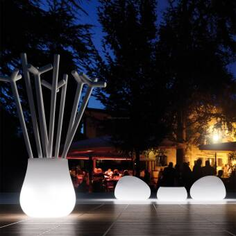 Euro3plast Plust Collection Donica Drop Light Indoor Art. 8254 / Outdoor Art. 9254