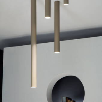 Studio Italia Design A-TUBE MINI - Small - Medium - Large Ceiling plafon kolory/wielkości