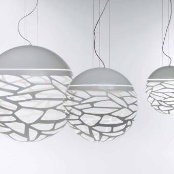 Studio Italia Design KELLY  Medium Sphere 50 Suspension   SO3  średnia kulista lampa wisząca