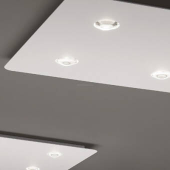 Studio Italia Design FROZEN Small  Ceiling -  Medium - Large LED plafon kolory/wielkości