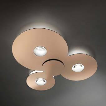 Studio Italia Design BUGIA  Triple LED plafon kolory