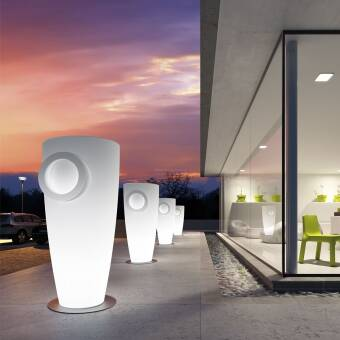 Euro3plast  Plust Collection Donica Humprey Light Indoor Art. 8226 / Outdoor Art. 9226