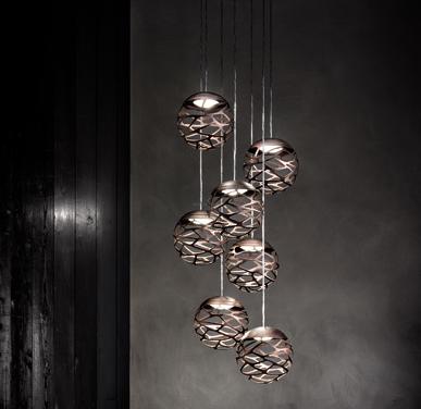 Studio Italia Design KELLY Cluster 7 Spheres LED ...