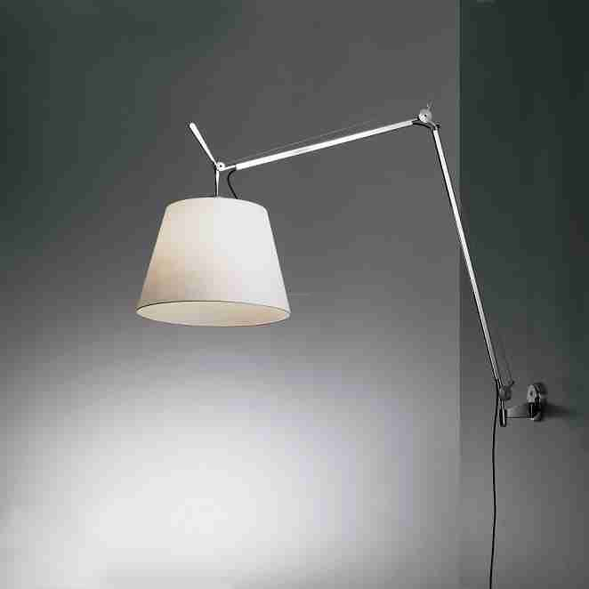 artemide tolomeo mega parete kinkiet kolor aluminium aba ur kolor pergaminowy kremowy. Black Bedroom Furniture Sets. Home Design Ideas