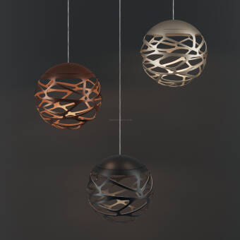 LODES  Studio Italia Design KELLY  Cluster 1 Sphere LED Suspension SO lampa wisząca  kolory