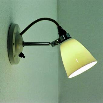 BTC FW 397 Hector Medium Dome Wall Light Switched kinkiet