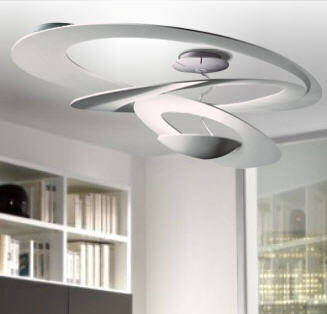 Artemide PIRCE Soffitto HALO / LED   plafon kolory